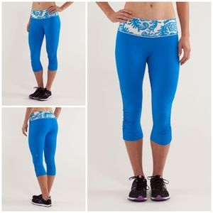 Lululemon For Your Life Crop Beaming Laceoflage